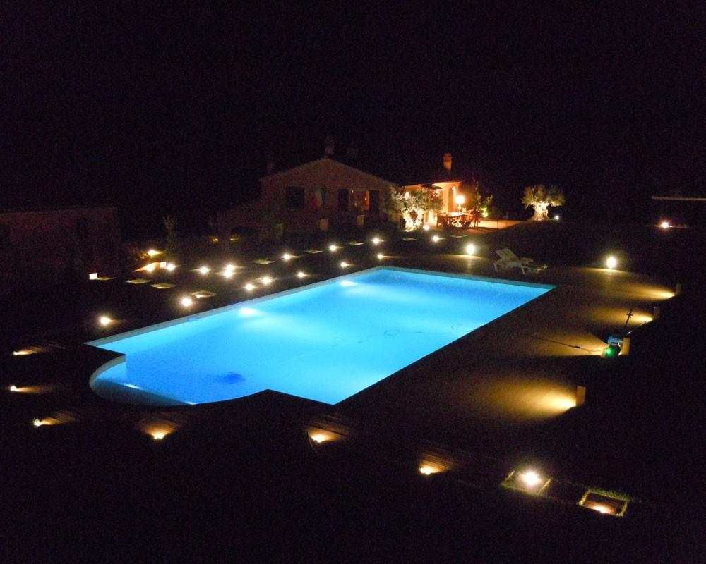 Impianti elettrici allontanamento volatili spurio roberto - Illuminazione piscina ...